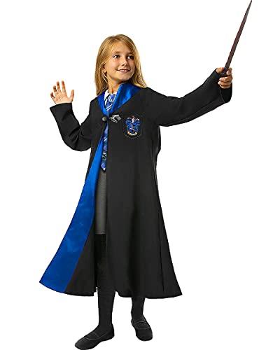 Funidelia | Disfraz Ravenclaw Harry Potter Oficial para niño y niña Talla 5-6 años ▶ Hogwarts, Magos, Películas & Series - Color: Negro - Licencia: 100% Oficial