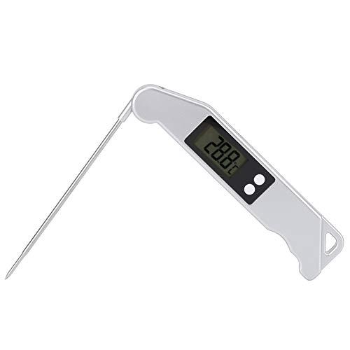 RBSD Temperaturanzeige, Kochfehlerthermometer mit kleinem Fehler, Grillthermometer, tragbar für Rindfleischhuhn