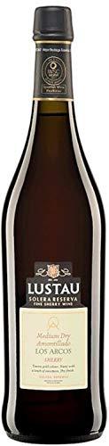 Amontillado Sherry Los Arcos Medium Dry 1 x 0,75 lt. - Emilio Lustau