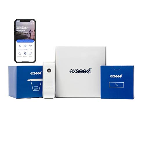 ExSeed – Home Sperm Test for Total Motile Sperm Count Assessment, Effective Predictor of Male Fertility, Male Fertility Test Kit as Accurate as Lab Tests (Smartphone Use) (2 - Test)