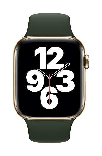 Apple Watch (44mm) Sportarmband, Zyperngrün - Regular