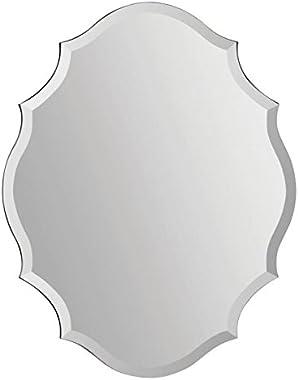 Ren-Wil MT1255 Emma Shaped Frameless Beveled Mirror
