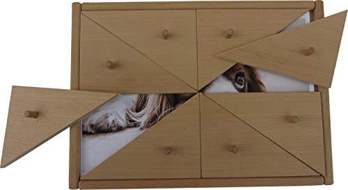 Holz-Bi-Ba-Butze Dalli klick / Material: Buche / Maße : 29,5 x 21 cm / Gewicht: 700 g / Achtung: OHNE Bilder / für 2 - 6 Spieler ab 4 Jahren geeignet / Made in Germany