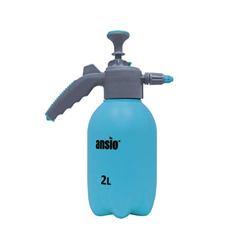Garden Sprayer 2 litre Pressure Sprayer Pump Action, Weed Killer,Water Pump Sprayer, Ideal with Pesticides, Herbicides, Insecticides, Fungicides - Pump Sprayer