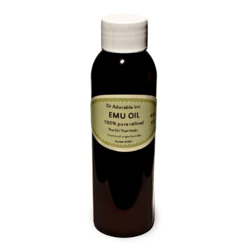 CREAMY EMU OIL BY DR.ADORABLE 100% PURE ORGANIC NATURAL 4 OZ