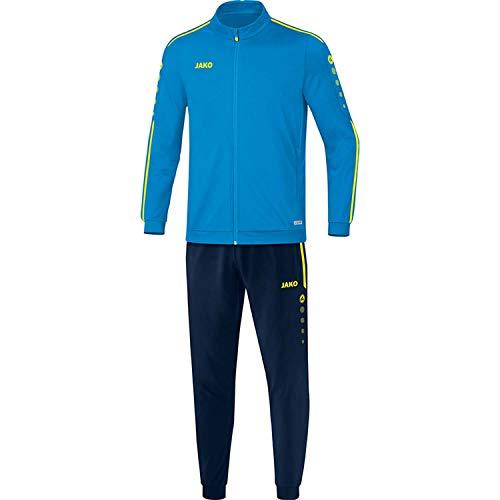 JAKO Kinder Striker 2.0 Trainingsanzug Polyester, blau/Neongelb, 152
