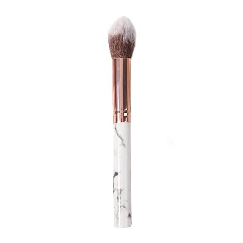 1pc surligneur pinceau de maquillage Brosses Fan Blending fard à paupières contournage pinceau blush marbre Motif cosmétique outil pour le maquillage quotidien