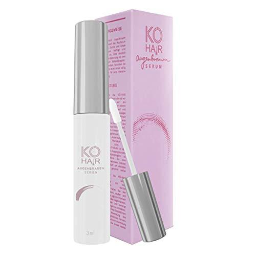 Wenkbrauwenserum Booster (3 ml), zeer effectief serum voor wenkbrauwgroei voor volledige en krachtige wenkbrauwen, gebaseerd op natuurlijke ingrediënten, van Kö-Hair Kliniek.