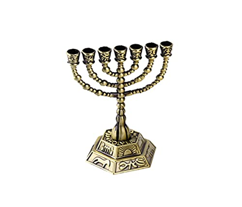 Candelabro hebreo Menorah, adecuado para tabernáculo, sába