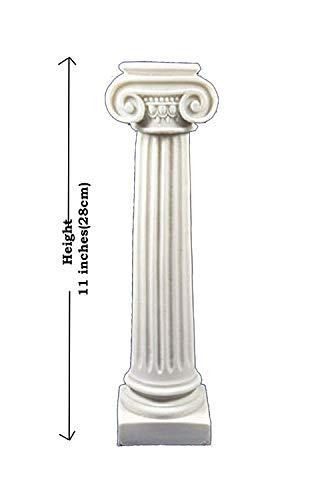 Orden iónica de la antigua Grecia columna artefacto