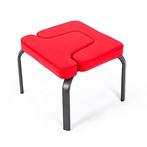 DaQingYuntur Silla de inversión de Yoga Headstand Bench, Taburete Multifuncional Yoga Aids Workout Chair Inversion Trainer, promueve la circulación sanguínea y Mejora el sueño (42 * 43 * 30 cm)