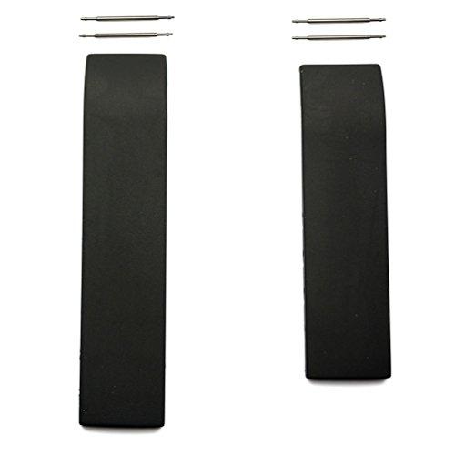 Cinturino in gomma nera Tissot T-Race 20mm T610014610 modelli T472