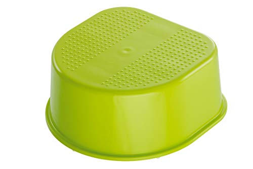 Rotho Babydesign Tabouret, Surface et Pieds Antidérapants, Bella Bambina, Apple Green (Vert), 200240205