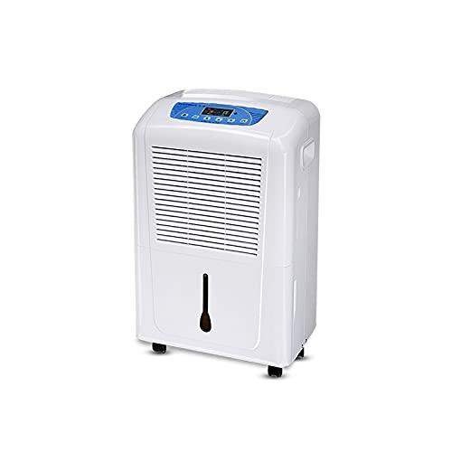 CLING Deshumidificador Comercial Capacidad del Tanque de Agua de 6L Gran Volumen de Aire Se Puede conectar a un desagüe Drenaje Continuo para dormitorios, baños, garajes, sótanos