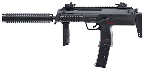 HECKLER & KOCH Softair MP7 A1 SWAT mit Maximum 0.5 Joule Airsoft Gewehr, Schwarz, One Size