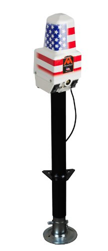 Atwood 80931 White Deluxe Power Jack - 2500 lb. Capacity