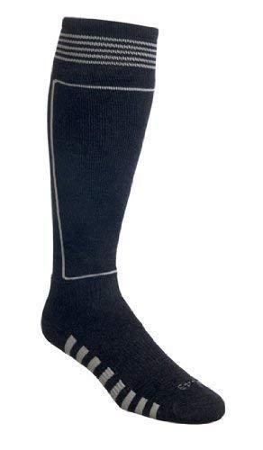 Thibet Ski- Strümpfe mit Schurwolle Ski Socks Farbe: anthrazit, Größe: 44-47