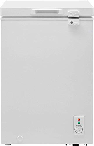 Candy CMCH100UK Freestanding Chest Freezer, 98L Total Capacity, 57.2cm wide, White