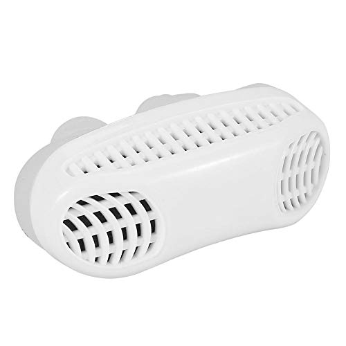 Anti Snoring Aid Sleep Device The Smarter Solution Against snoring and Sleep Disorders. Stop Snoring The Natural and Effective Way (White)