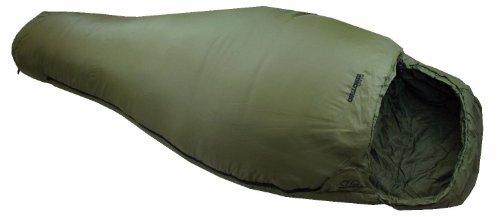 Highlander Erwachsene Schlafsack Mumienschlafsack Challenger Lite 150, Oliv, L