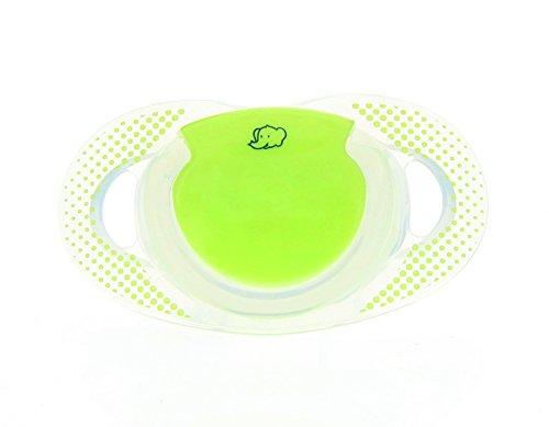 Bébé Confort Conjunto de 2 silicona Chupete Physio verde natural