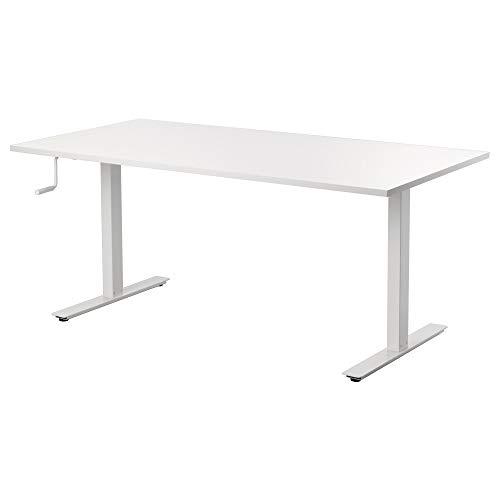 IKEA.. 290.849.66 Skarsta Schreibtischständer, Weiß