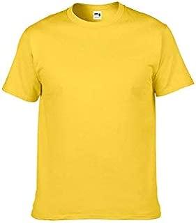 SASH , Eco-Friendly 100% Cotton 210GSM Men's Round Neck Plain T-Shirts with
