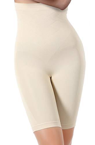 miorre - Braguitas Moldeadoras Completas - para Mujer Beige Beige L-XL