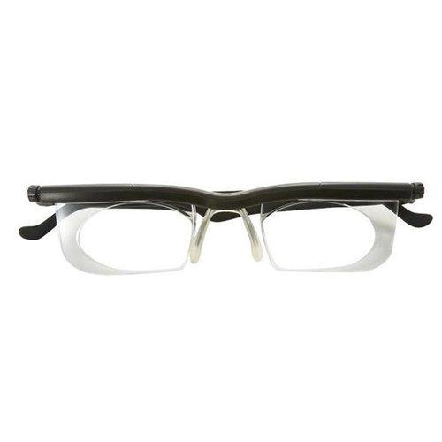 アドレンズ ライフワン:自分で度数を調節できるメガネの最新モデル ブラック 2個セット
