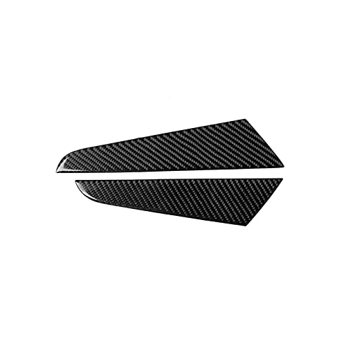 RKVA Fibra Carbono 2 Piezas para Audi. para A3 8V 2014-2019 Pegatinas Panel Lateral Engranaje Interior Coche Calcomanía Cubierta Embellecedora, Accesorios Modificación Automática (Color : LHD)