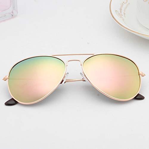 YIWU Brillen & Zubehör Sonnenbrillen Herren Influx Retro Korean Edition Personalisierte Polarisierte Brille Damen Vacation Beach Sonnenbrille (Color : 4)
