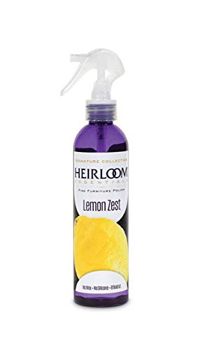 Heirloom Essentials Furniture Polish (Lemon Zest), 8 Ounce