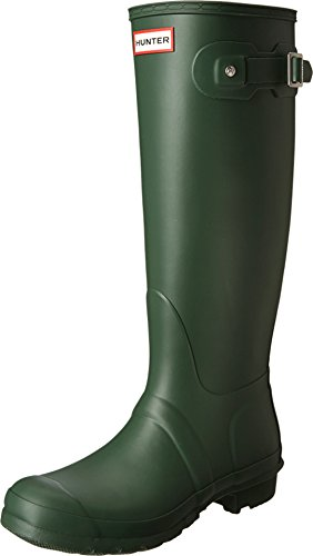 Hunter Women's Original Tall Hunter Green Rain Boots - 7 B(M) US