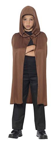 Smiffy's - Capa con capucha larga, color marron, (44200) , color/modelo surtido