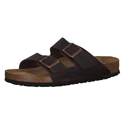 Birkenstock Arizona Slip on Shoe Leather Softfootbed Habana
