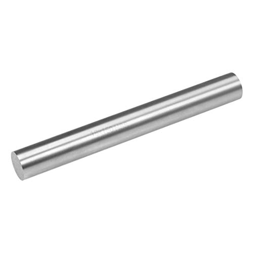 uxcell Round Steel Rod, 18mm HSS Lathe Bar Stock Tool 150mm Long, for Shaft Gear Drill Lathes Boring Machine Turning Miniature Axle, Cylindrical Pin DIY Craft Tool, 1pcs