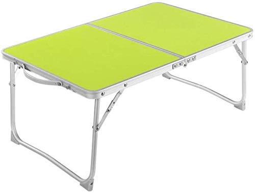 TRYSHA Tabellen Laptop Stand Computer tafel Inklapbare lade Slaapbank Terras Balkon Tuin (Kleur: T1) Draagbare computerstandaard (Color : T4)