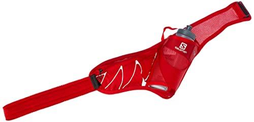 Salomon SENSIBELT, Cintura per l'Idratazione con 1 Borraccia Inclusa, per Trail Running ed Escursionismo, Rosso (Goji Berry), Taglia Unica