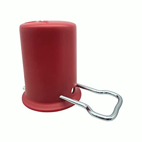 Kleingebinde- & Schutzkappe | Für Propan- und Gasflaschen | Farbe: rot