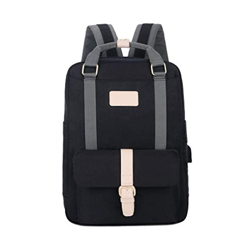 Nordace ECLAT – Light & Durable Backpack for Everyday Use (Schwarz)