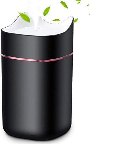 HebyTinco Ultraschall Luftbefeuchter Aroma Diffusor, Aroma Duftöl Diffusor, LED Nachtlicht und automatischer Abschaltung - ideal für Schlafzimmer oder Babyzimmer, Nette Katzenform
