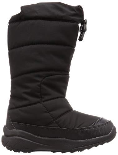 [ザノースフェイス]ブーツヌプシブーティーワイドTNFブラック18cm