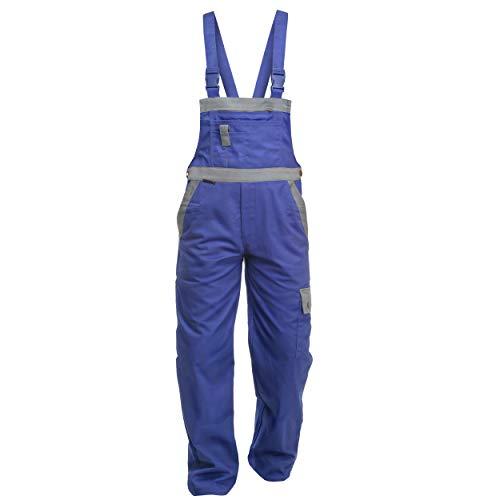 Werkbroek Charlie Barato Profi Line korrel/grijs, tuinbroek voor ambachtslieden 54 EU korenblauw/grijs