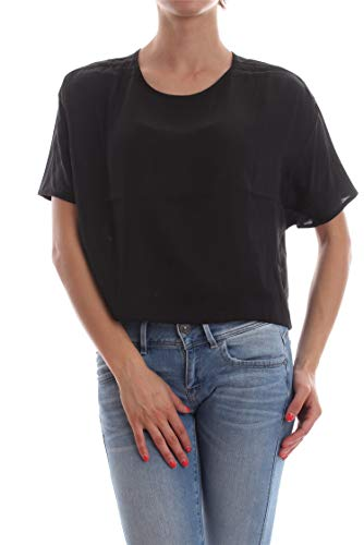 G-STAR RAW COLLYDE Woven Tee Tops/blouses Femmes Black Tops/blouses