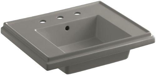 Kohler Tresham Badezimmer-Waschbecken mit 20,3 cm breitem Wasserhahn-Bohren, K-2757-8-K4