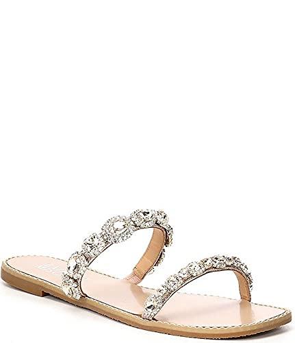 [バッジェリーミシュカ] シューズ 26.0 cm サンダル Reed Jeweled Strap Detail Sandals Champagne レディース [並行輸入品]