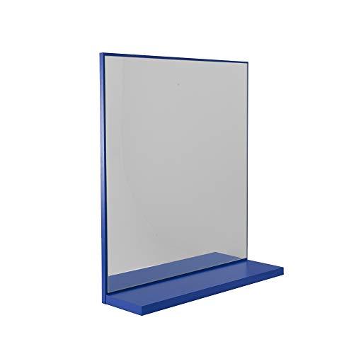 TENZO Box Badezimmerspiegel, Spanplatte, blau, 17 x 60 x 69 cm