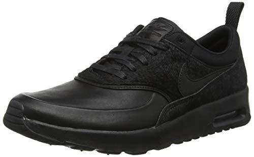 Nike Wmns Air MAX Thea Premium 616723-01, Zapatillas para Mujer, Negro (Black...