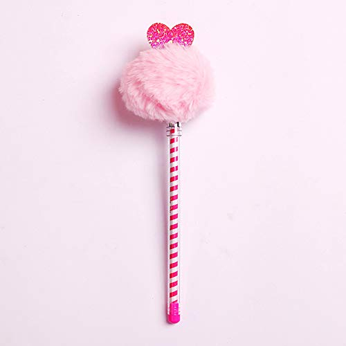 10 Sticks Kreative Kleine Frische Haare Kugelschreiber Fairy Fairy Pen Niedlichen Koreanischen Schwarzen Stift Refill Student Schreibwaren A 0.5Mm