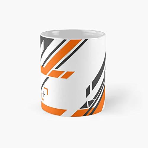 Csgo Black Orange V2 Classic Mug Best Gift Funny Coffee Mugs 11 Oz